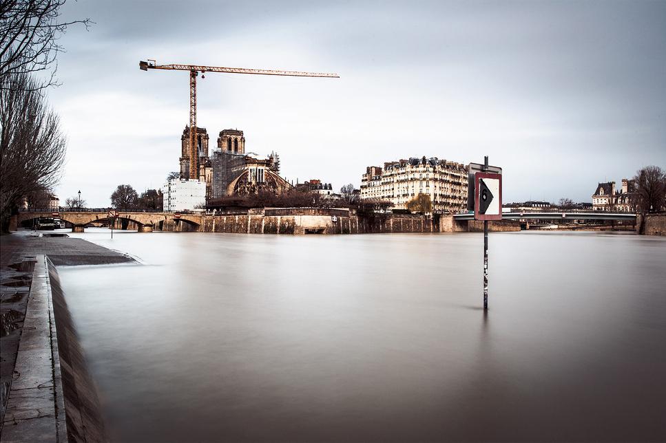 Inondation de l'hiver 2021